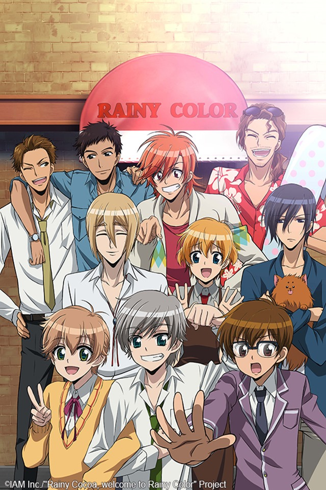 cover anime Rainy Cocoa, Welcome to Rainy Color