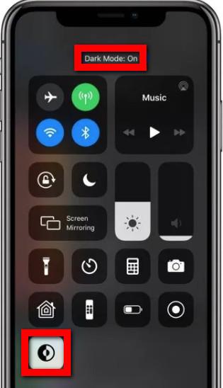 كيفية تفعيل وضع الظلام في iPhone و iPad شرح بالصور