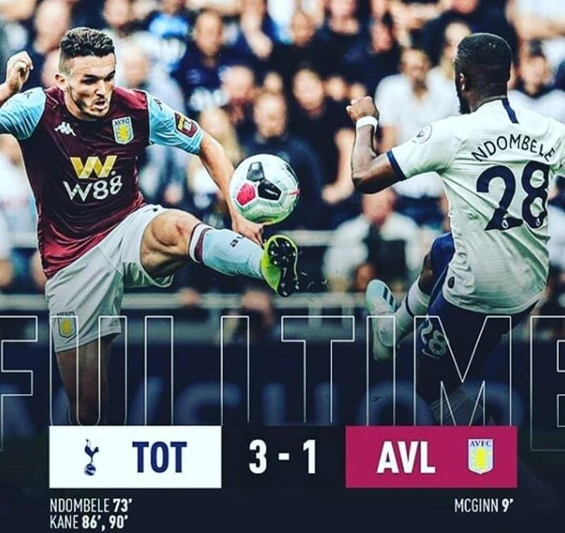 Tottenham vs Aston Villa- IGsportz.arena