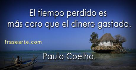 Paulo Coelho – el tiempo perdido