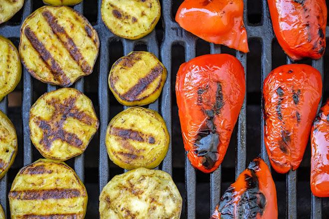 Griller des légumes
