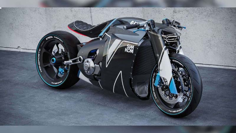 Check Out This Aggressive, Ducati-Based Electric Bike Concept