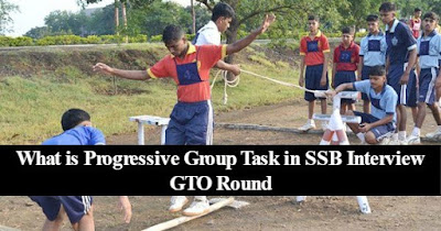 Progressive Group Task in SSB