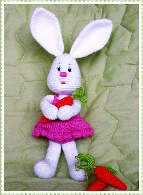 #bunny#amigurumi#crochet#soft toy