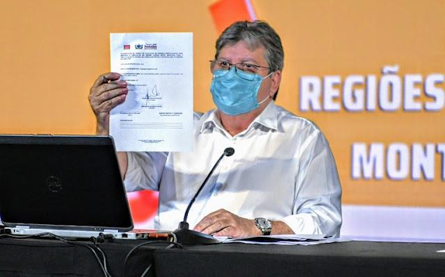 João Azevêdo anuncia investimentos para as regiões de Campina Grande, Monteiro e Patos