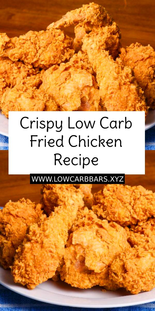 Crispy Low Carb Fried Chicken Recipe | Crispy Chicken Recipe | Low Carb Chicken Recipe #crispy #crispychicken #easychickenrecipe #chickenreicpe #lowcarb #lowcarbdinner #lowcarbrecipe #easydinnerrecipe #friedchicken #friedchickenrecipe #dinner #healthydinnerrecipe