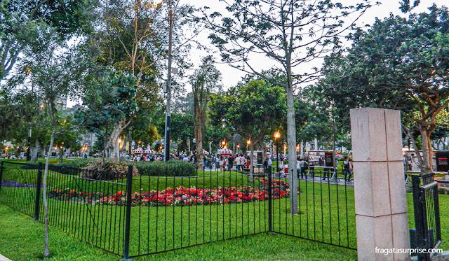 Parque Kennedy, Miraflores, Lima, Peru