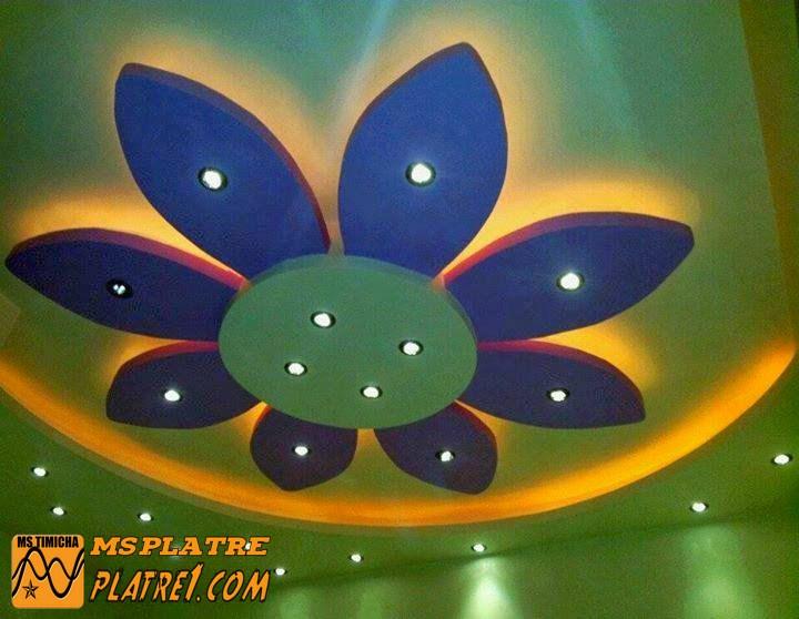 Faux plafond pour salon - Ms Timicha | Décoration Marocaine