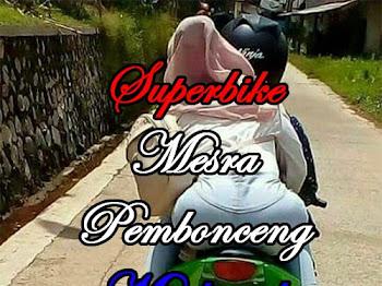 Superbike mesra pembonceng muslimah