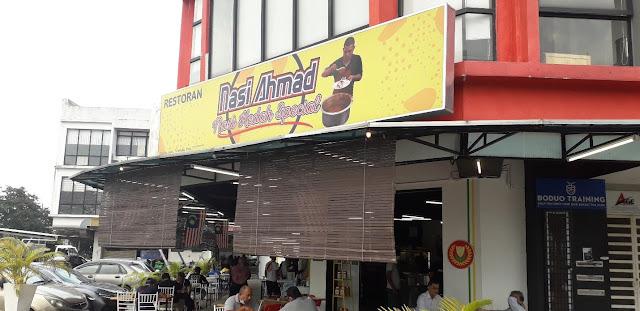 Bahagian Hadapan Restoran Nasi Ahmad @ Kota Damansara