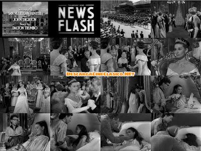 Vacaciones en Roma (1953) Roman Holiday | DESCARGACINECLASICO.NET