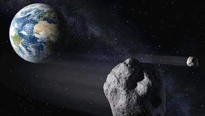 Terra sfiorata da asteroide ravvicinato: solo 16.000 chilometri