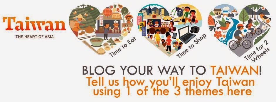 Blog your way to Taiwan