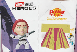Front and right panel of Marvel Studios Heroes Happy Meal Box