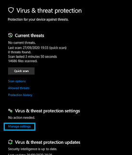 Cara Mematikan Antivirus Windows 7, 8 dan 10