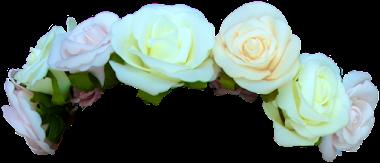 render corona de flores
