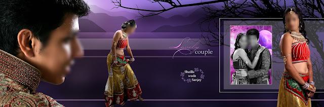 New indian Wedding Album 12x36 Psd Latest Album Design Free Download