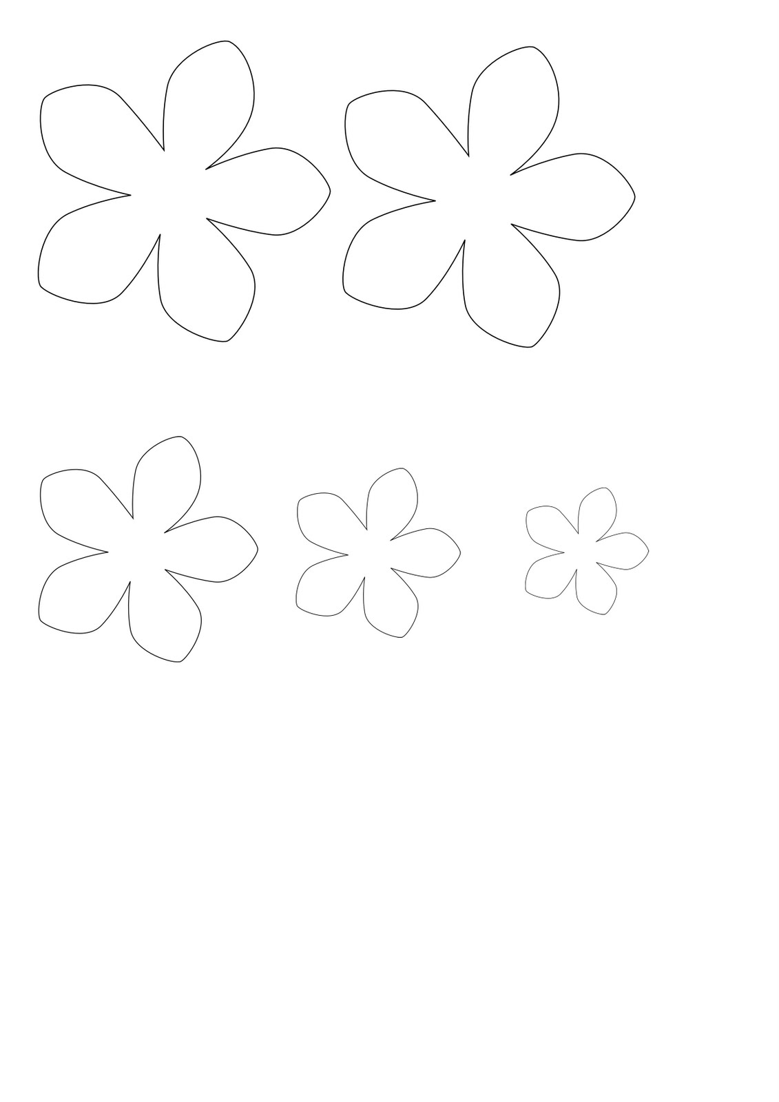 Paper Pixels: A flower template for Erin