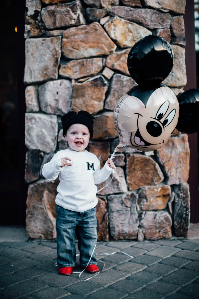 DIY Halloween Costume ideas for children: Mickey Mouse