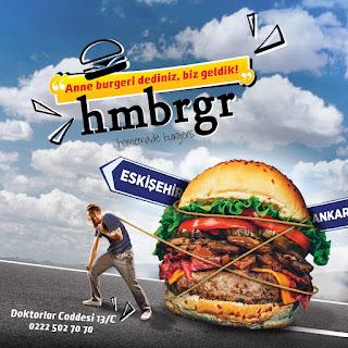 hmbrgr menü fiyat listesi kampanya anne burger siparişi eskişehir
