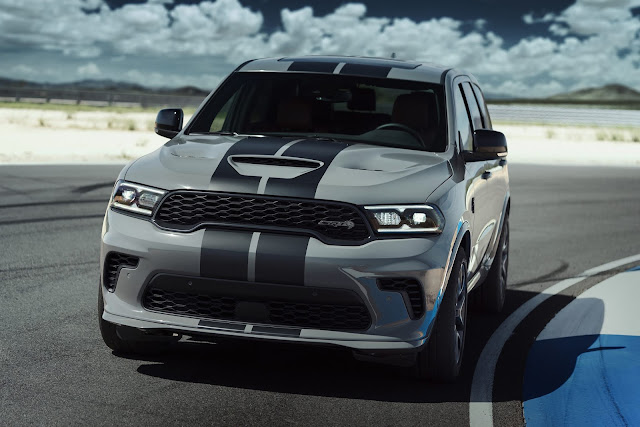 Cat Out of Hell: Dodge//SRT Introduces the Most Powerful SUV Ever - 2021 Durango SRT Hellcat