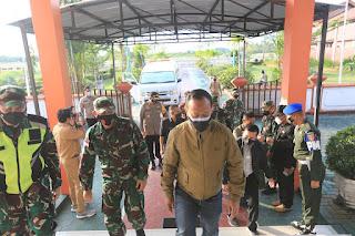 Menyambut Kedatangan Komandan Pusat Kesenjataan Artileri Pertahanan Udara