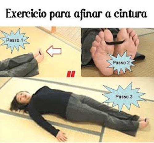 Técnica: Afinando a cintura com auxílio de um elástico