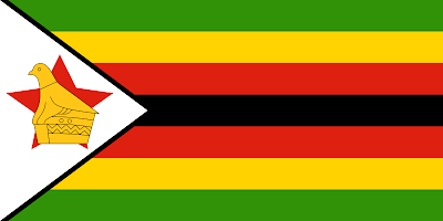 National Flag of Zimbabwe