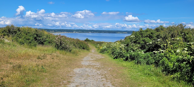 nice trail up to Fort Casey State park
