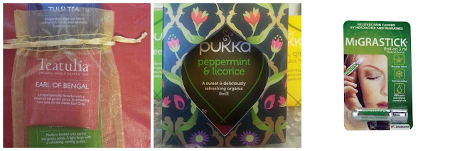 Teatulia, Pukka Tea and Migrastick