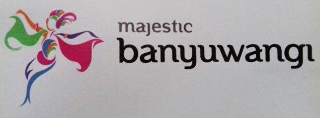 Majestic Banyuwangi, logo wisata Banyuwangi.