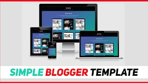 Simple Responsive Blogger Template 2020 Version | Mind Blowing - Responsive Blogger Template
