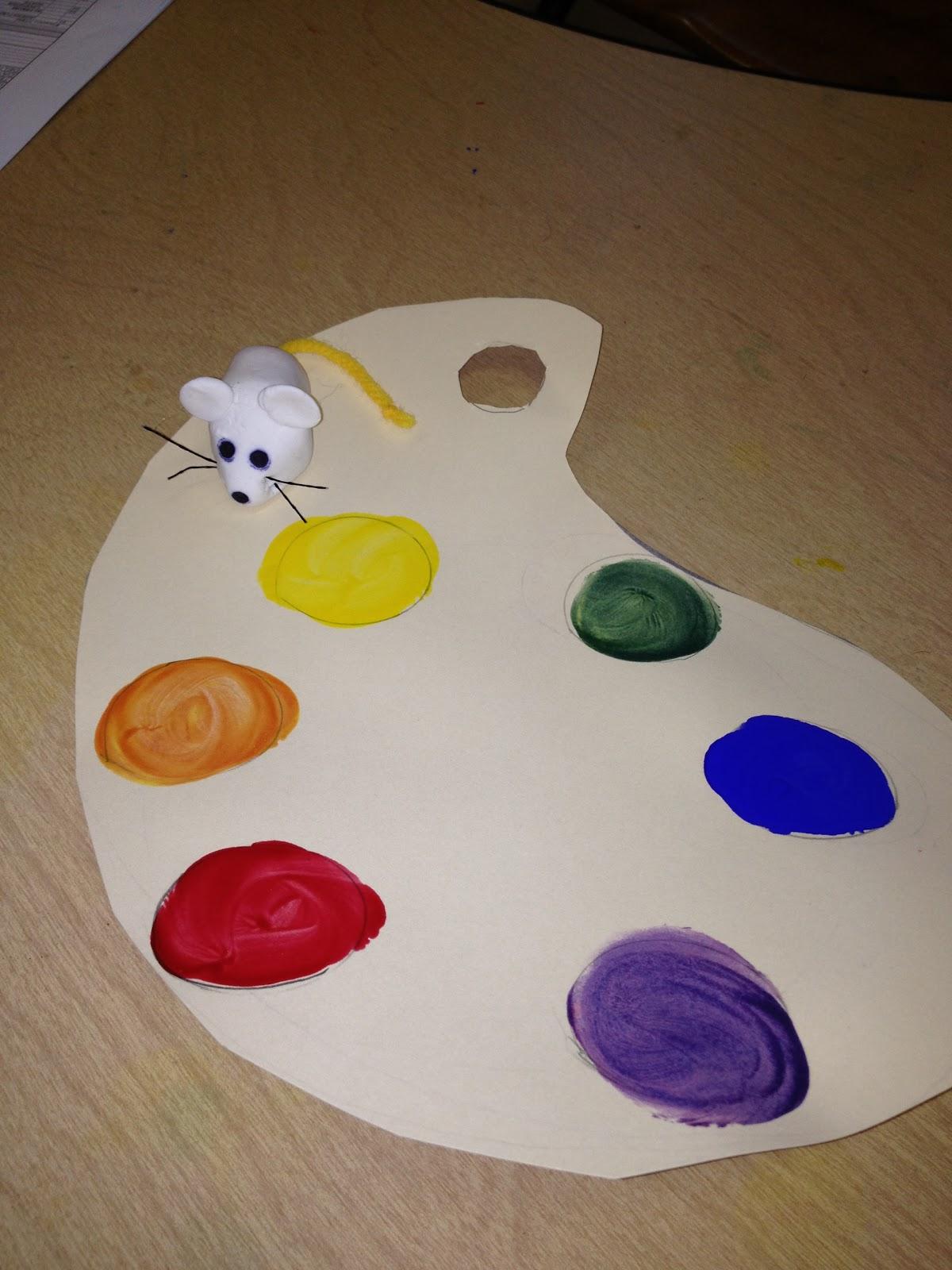 Mrs Goff S Pre K Tales Mouse Paint