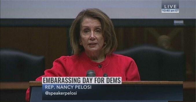 Federal Judge Unseals Nancy Pelosi's Alcoholic Treatment Records