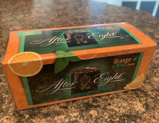 Nestle After Eight Orange & Mint