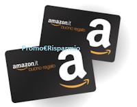 Logo Amazon promo GRAZIE1000: solo per oggi ricevi un buono sconto da 10€