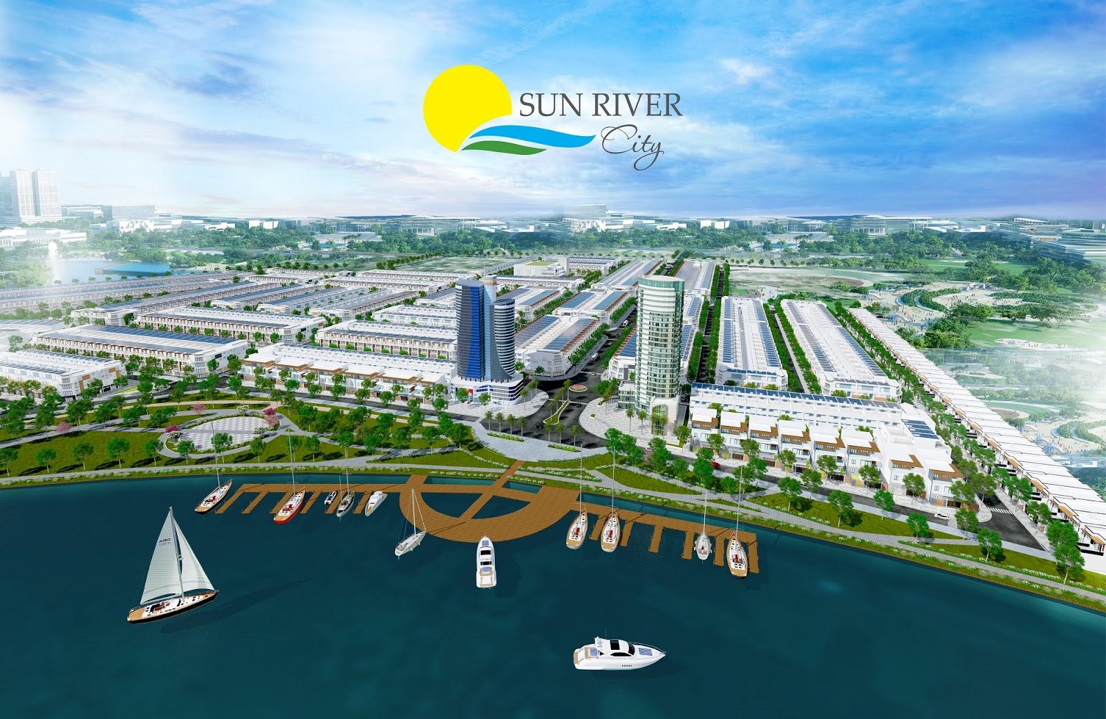Mở bán 100 lô đất nền cạnh sông Cổ Cò dự án Sun river city