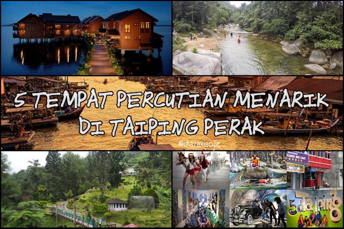 5 Tempat Percutian Menarik di Taiping Perak