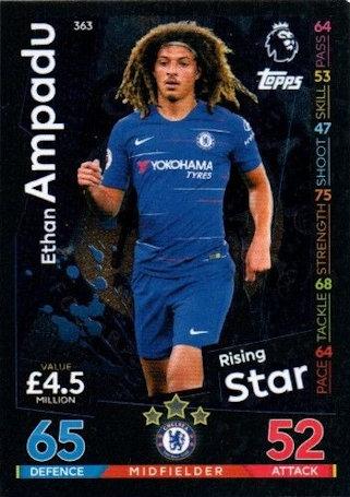 371 Match Attax 18//19 Kyle Walker-Peters Tottenham Hotspur Rising Star no