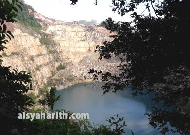 Hiking Di Tasik Biru Kangkar Pulai