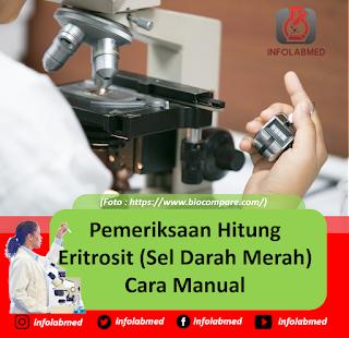 Pemeriksaan Hitung Eritrosit (Sel Darah Merah) Cara Manual