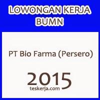 Lowongan Kerja BUMN PT Bio Farma (Persero) Terbaru Mulai Januari 2015