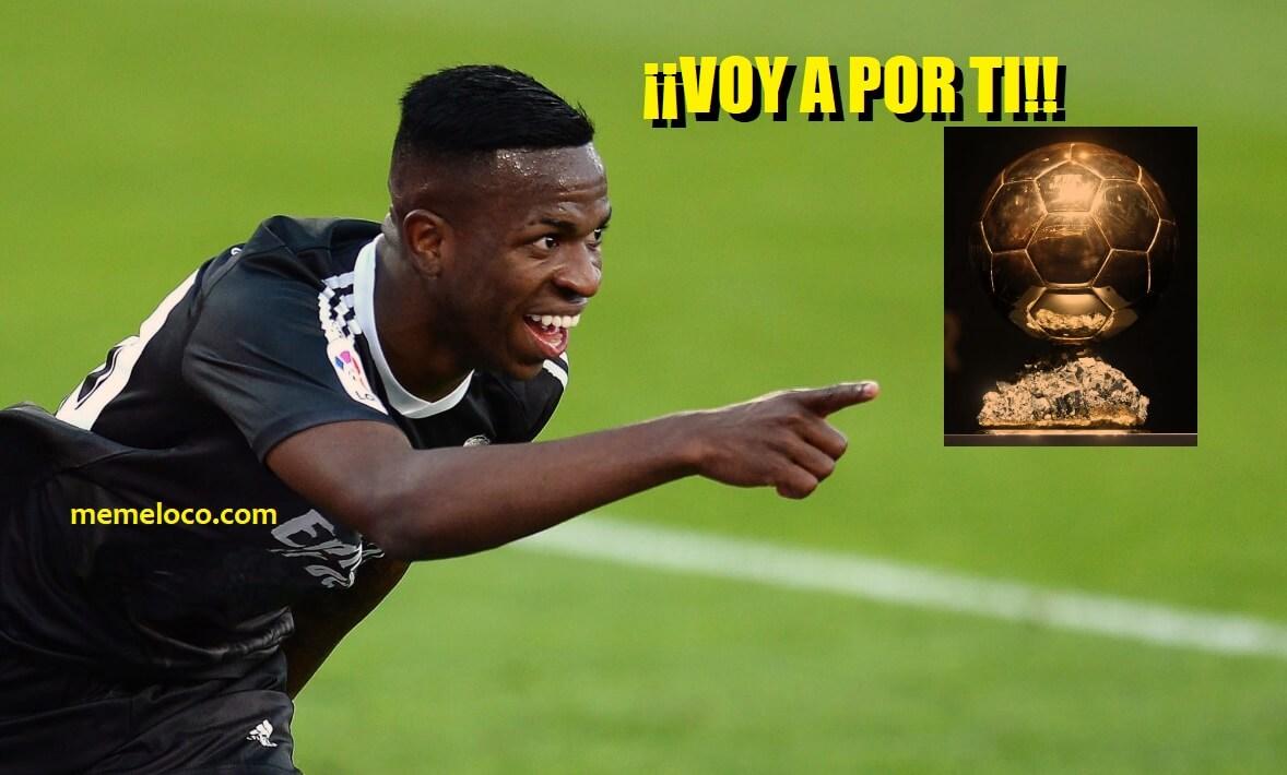 Gol de rebote de Vinicius. Balón de Oro