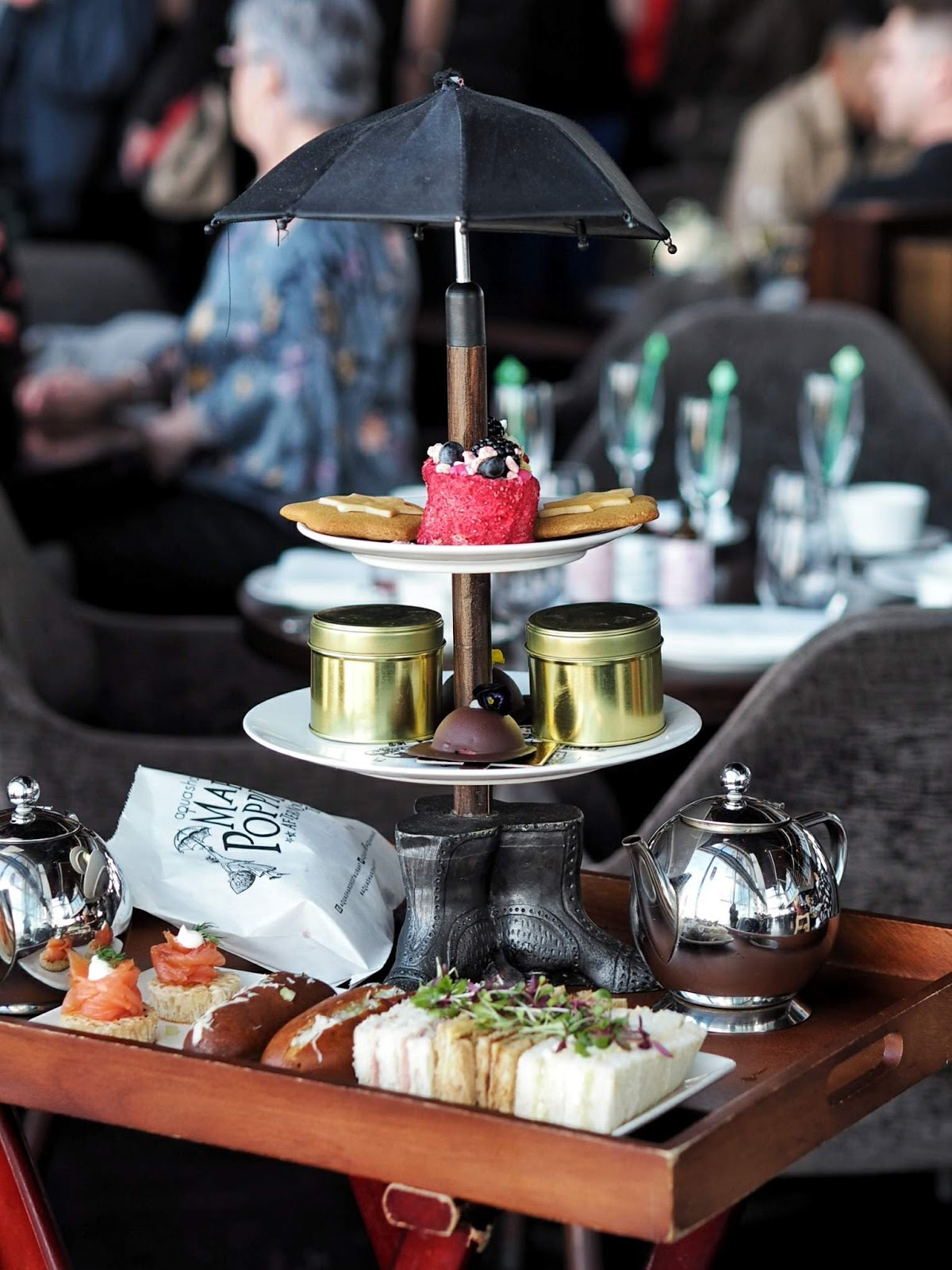 Just A Spoonful of Sugar: The Mary Poppins Afternoon Tea at