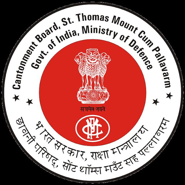 Cantonment Board Chennai Recruitment 2019 06 Plumber Posts