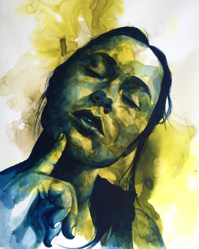 Figurative Paintings by Madeline Berger from France.