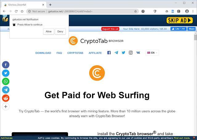 redirecciones a Gatustox.net