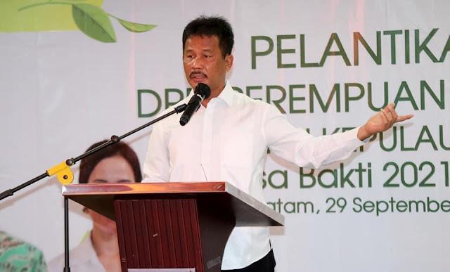 DPD Perempuan Tani HKTI Kepri Dilantik, Rudi Mengharapkan Membawa Manfaat Bagi Mayarakat Batam