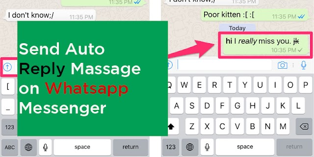 How to send Auto Reply in Whatsapp | Whatsapp tricks of 2020