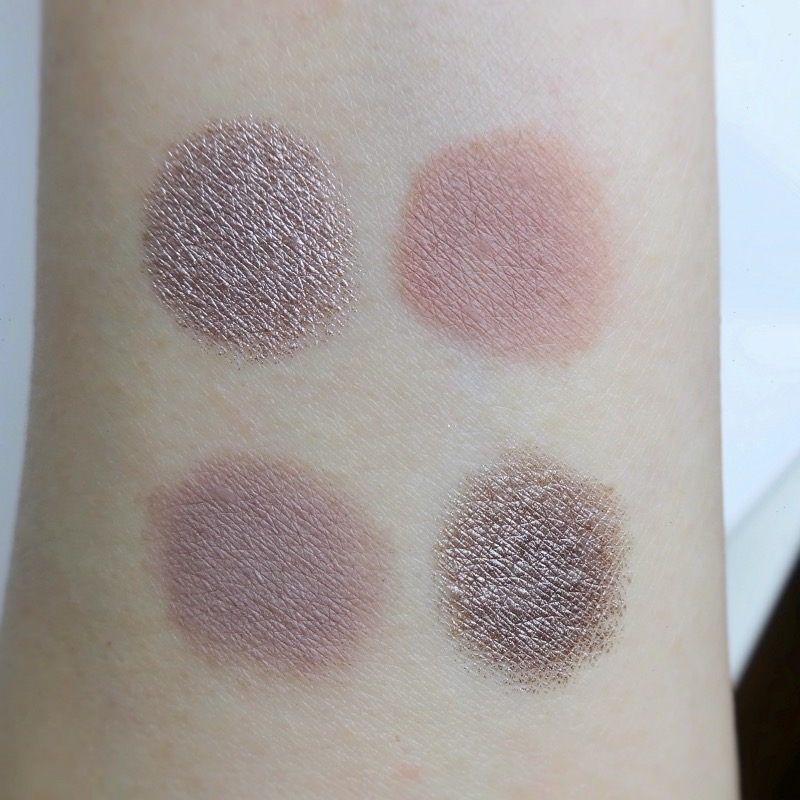 Viseart Petits Fours Lilas review swatches
